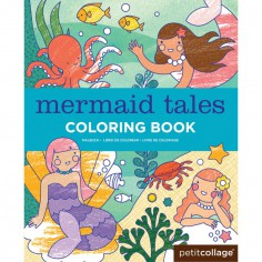 Livre de coloriage Sirènes (36 pages)