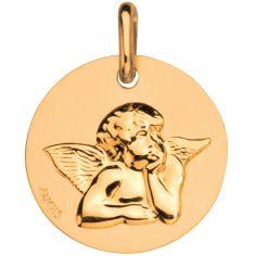 Médaille Ange de Raphaël 16 mm (or jaune 750°)