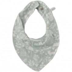 Bavoir bandana Adventure mint
