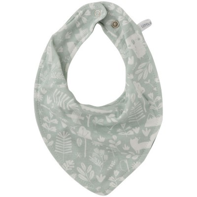 Bavoir bandana Adventure mint  par Little Dutch