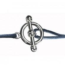 Fermoir pour bracelet cordon maman Petits Trésors (argent 925°)  par Petits trésors