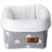 Panier de toilette Star gris et blanc (17 x 20 cm)  par Baby's Only