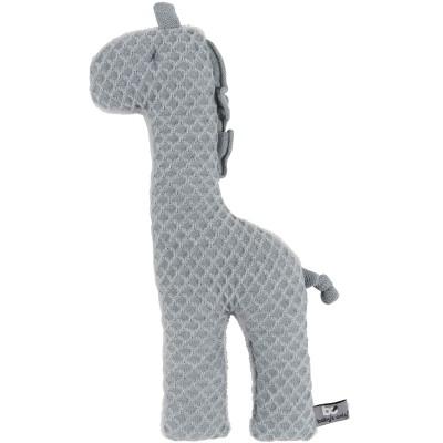 Peluche girafe Sun gris et gris argent (40 cm) Baby's Only