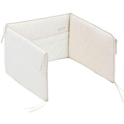 Tour de lit Star beige (pour lit 60 x 120 cm ou 70 x 140 cm)  par Cambrass