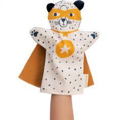 Marionnette à main Léopard super-héros