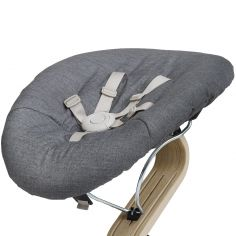 Housse pour transat Nomi Baby gris foncé et sable