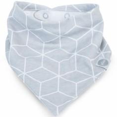 Bavoir bandana Graphic gris