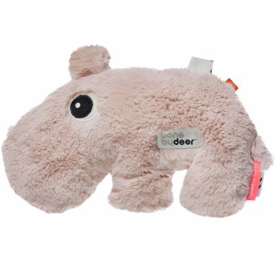Peluche hippopotame Ozzo rose (27 cm) Done by Deer