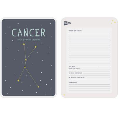 Affiche signe astrologique Cancer (21,4 x 32,5 cm)  par Milestone
