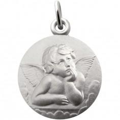 Médaille Ange Raphaël 18 mm (argent 925°)