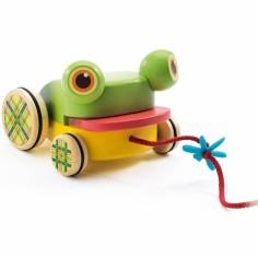 Jouet à trainer grenouille CroaFroggy