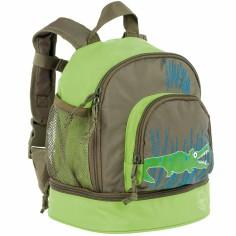 Petit sac à dos Croco vert