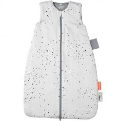 Gigoteuse chaude Dreamy dots TOG 2.5 blanche (70 cm)