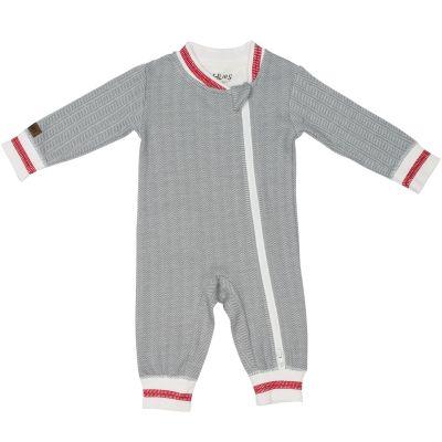 Pyjama chaud Cottage gris (12-18 mois) Juddlies