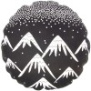 Coussin de sol Trendy Black and White Aspen - Nattiot