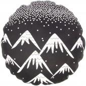 Coussin de sol Trendy Black and White Aspen - Nattiot