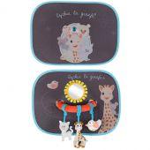 Pare-soleil avec arche d'activités Sophie la girafe et ses amis (lot de 2) - Sophie la Girafe