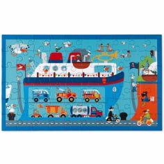 Puzzle Bateau Ferry (60 pièces)