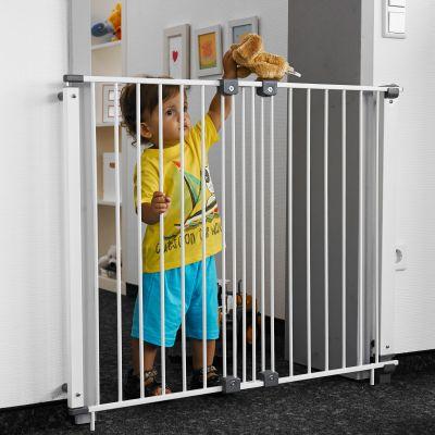 Barrière de sécurité Purelock argenté (68,5 à 107 cm)  par Geuther