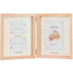 Cadre pêle-mêle Souvenirs de grossesse Woodland Baby