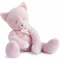 Peluche chat rose (50 cm)