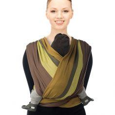 Echarpe de portage BB-Slen Trend coton bio tapenade (2,6 mètres)