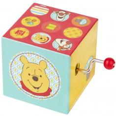 Cube manivelle musical Winnie l'ourson l'Ourson
