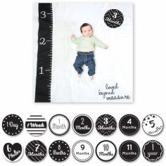 Cartes étapes de bébé et maxi lange Loved beyond measure (14 cartes)