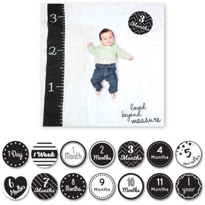 Cartes étapes de bébé et maxi lange Loved beyond measure (14 cartes)  par Lulujo