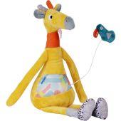 Billie la girafe musicale Jungle Boogie (34 cm) - Ebulobo