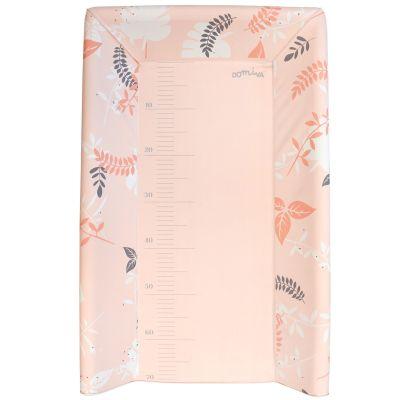 Plan à langer avec matelas rose (pour lits 60 x 120 cm et 70 x 140 cm)  par Domiva
