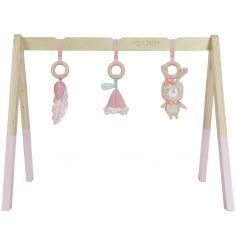 Arche de jeux en bois rose