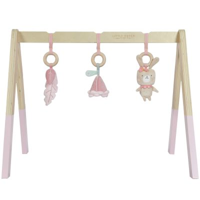 Arche de jeux en bois rose  par Little Dutch