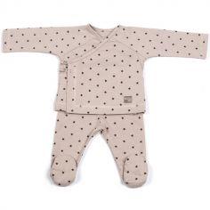 Ensemble tee-shirt et pantalon Gaby Pierre (1-3 mois)
