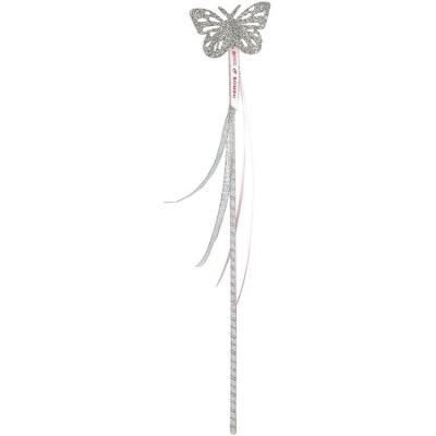 Baguette papillon argentée  par Souza For Kids