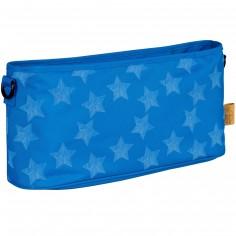 Sac à poussette étoile bleu