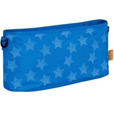Sac à poussette étoile bleu Lässig