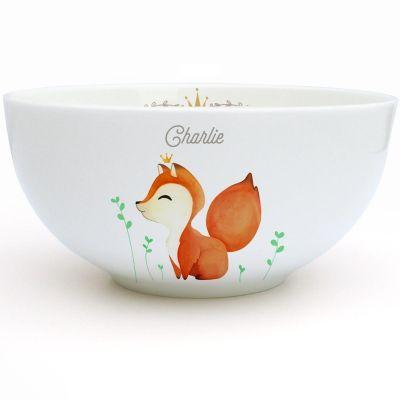 Bol en porcelaine nouveau Renard (personnalisable)  par Gaëlle Duval