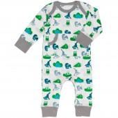 Combinaison pyjama animaux de la forêt (0-3 mois : 50 à 60 cm) - Fresk