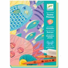 Kit de dessin Sous la mer