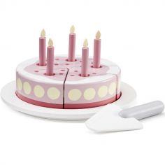 Gâteau d'anniversaire en bois Bistro rose