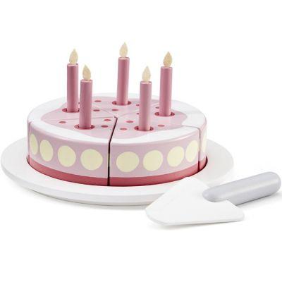 Gâteau d'anniversaire en bois Bistro rose  par Kid's Concept