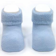 Chaussettes bleues (6-12 mois)