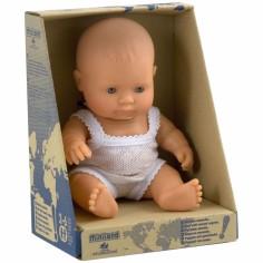 Poupée bébé fille Européenne (21 cm)