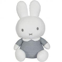 Peluche géante lapin Miffy marinière (60 cm)