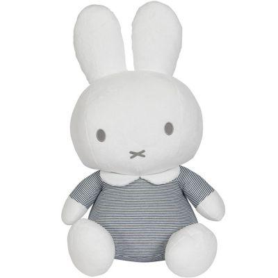 Peluche géante lapin Miffy marinière (60 cm)  par Pioupiou et Merveilles