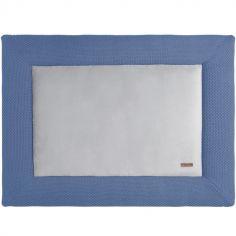 Tapis de jeu bleu Flavour (75 x 95 cm)