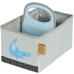 Panier de toilette requin océan (16 x 25 cm)