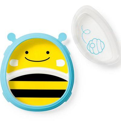 Assiette évolutive + bol abeille Skip Hop