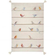 Tapis enfant Kilim petits oiseaux (140 x 200 cm)